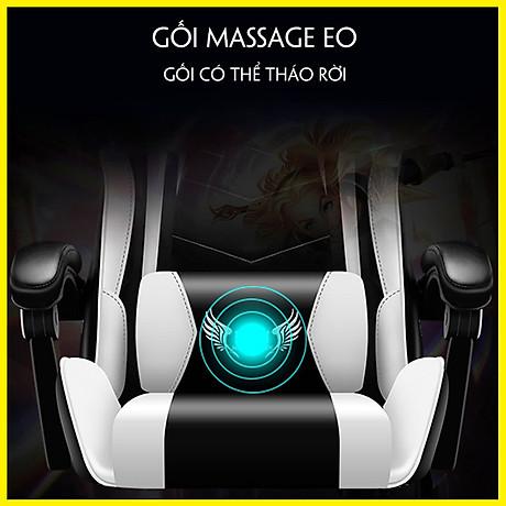 Ghế Game. Ghế Máy Tính. Ghế Gaming - Có Massage 220V - Phong Cách Thể Thao 4