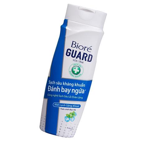 Bộ kháng khuẩn mát lạnh (1 sữa tắm 220g + 1 chống nắng 25ml) Tặng 1 Băng vệ sinh siêu mỏng Laurier 7 Miếng 3