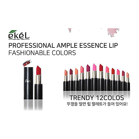Son màu Ekel Professional Ample Essence Lip (112) 4