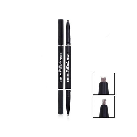 Chì kẻ mày 2 đầu không lem, không trôi Beauskin Eyebrow Crystal Eyebrow Pencil 03 Màu Khói - Hàn Quốc Chính Hãng 1
