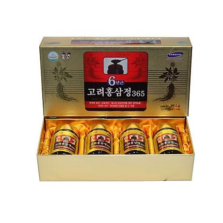 Cao Hồng Sâm 365 Hàn Quốc (4 Lọ x 240g) 1