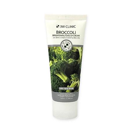 Kem nền dưỡng trắng tinh chất bông cải xanh 3W CLINIC Hàn Quốc 100ml 2