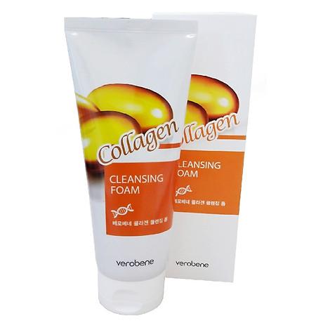 Sữa Rửa Mặt Collagen Verobene Collagen Cleansing Foam 150ml 2