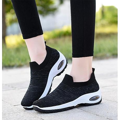 Giày thể thao sneaker vải chun tuyệt đẹp cho nữ - SB101 3