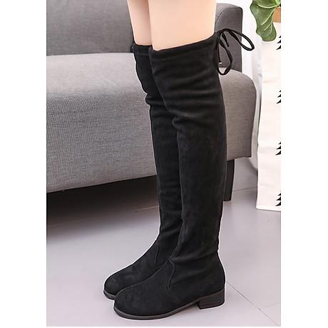 Boot nữ cổ cao đế trệt GCC28 3