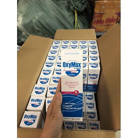 Dung dịch vệ sinh mũi, Xịt mũi OxyMax dành cho trẻ em 3