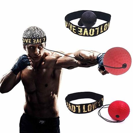 Bóng tập boxing phản xạ với dây buộc đầu 2