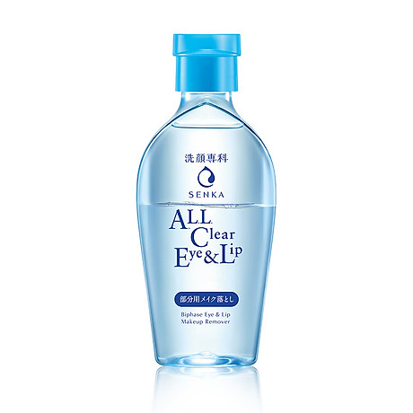 Nước tẩy trang vùng mắt & môi Senka A.L.L Clear Eye & Lip 150ml 1