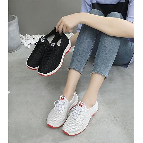 Giày sneaker nữ phong cách thể thao thoáng khí 197 8