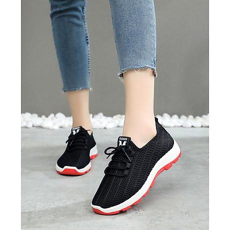 Giày sneaker nữ phong cách thể thao thoáng khí 197 3