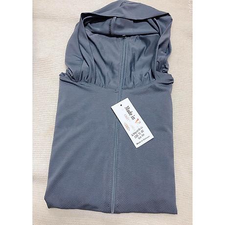 Áo chống nắng thông hơi làm mát che mặt tiện lợi, loại dày dặn đẹp (tặng 1 cặp tóc càng cua) 1