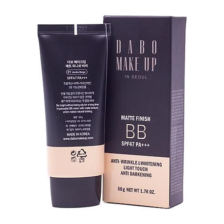 Phấn phủ kiềm dầu cao cấp Hàn Quốc Dabo Make-Up SPF 36 PA+++ (11g) Hàng Chính Hãng - 21 Vanila Begie 8