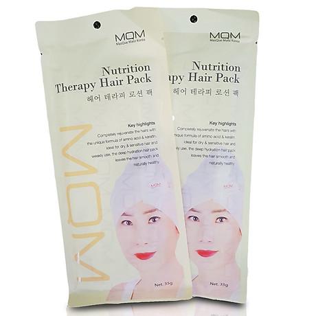 Gói Ủ Tóc, Giúp Tóc Mượt và Bóng - MQM NUTRITION THERAPY HAIR PACK 1