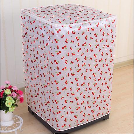 Vỏ bọc bảo vệ máy giặt loại dày ( giao màu ngẫu nhiên) tặng kèm dụng cụ nâng nắp bồn cầu silicon 7