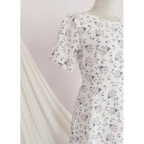Đầm váy nữ dài hoa nhí, dáng xoè, đẹp nhẹ nhàng, đơn giản, ngọt ngào RD037.2 7