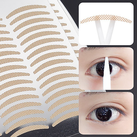 Miếng Dán Kích Mí (sử dụng nước) - Vacosi Water Wonder Eyelid Tape VM23 4