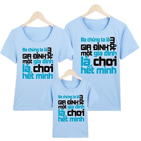 Áo thun nữ - áo gia đình in hình - GĐM14- Giá Trên là giá cho 1 chiếc áo 1