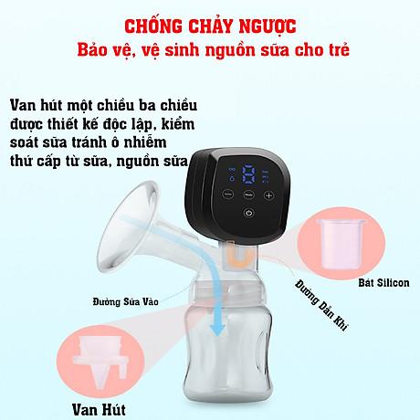 Máy hút sữa điện đơn dùng pin sạc di động cao cấp CMBEAR ZRX-0901 CHÍNH HÃNG - CMB21 7