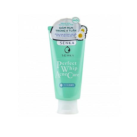 Senka Perfect Whip Acne Care - Sửa rửa mặt dành cho da mụn 1