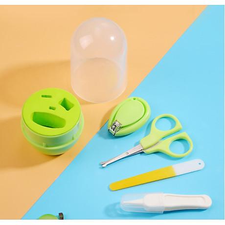 Bộ kềm vắt móng vệ sinh trẻ em, bé sơ sinh cao cấp BB18-BOCMT ( GIAO NGẪU NHIÊN) 6