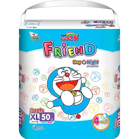 Tã quần Goon Friend Doremon mới gói siêu đại XL50 (12kg 17kg) 1