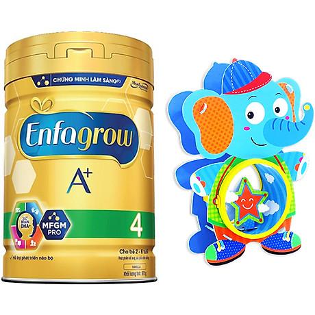 Combo 1 lon sữa bột Enfagrow A+ 4 870g - Tặng 1 đồ chơi trống lắp ghép sáng tạo 2