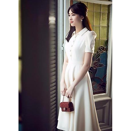 Đầm Nữ Vintage Cổ Sơ Mi Misa Fashion MS320 1