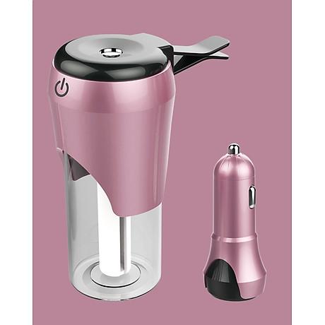 Máy tạo độ ẩm dành cho ô tô (Màu ngẫu nhiên) - tặng kèm đèn pin bóp tay 4