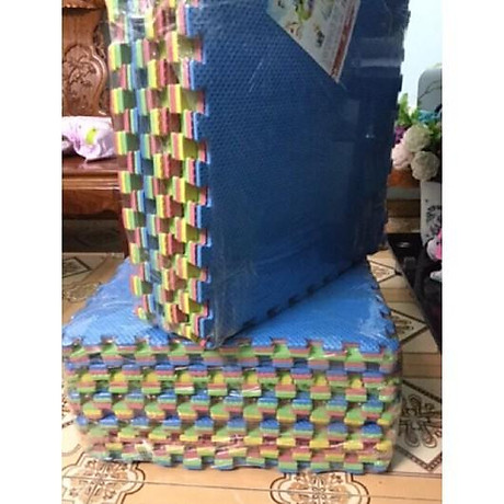 Thảm xốp trải sàn nhiều màu (bộ 6 miếng 60x60) 4