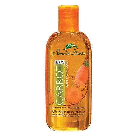 Sữa rửa mặt dưỡng ẩm trắng da Carrot Facial Wash 100ml 1