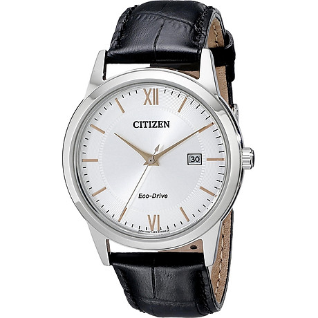 Citizen Men s Eco-Drive Stainless Steel Watch with Date, AW1236-03A 1