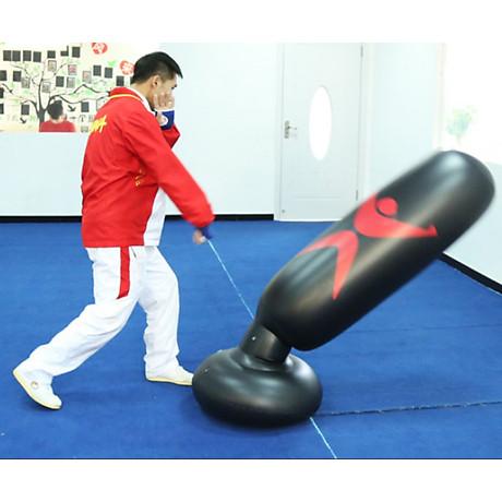 Bao trụ đấm bốc 2.0 PRO X tự cân bằng PVC, bao tập võ Boxing 5
