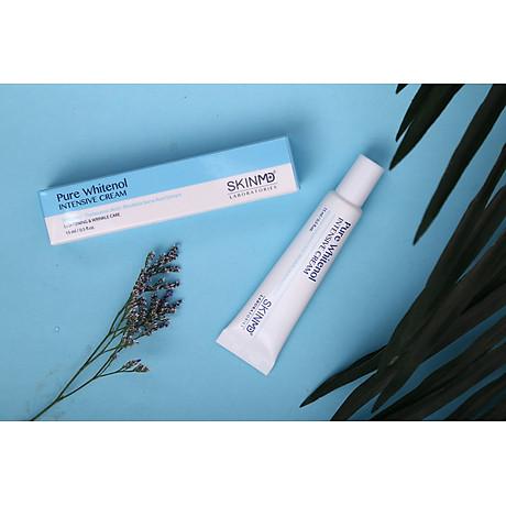 SkinMD Pure Whitenol Intensive Cream 15ml - Tái tạo da Nám, Trắng Sáng Da Và Chống Lão Hóa - Hàn Quốc 3