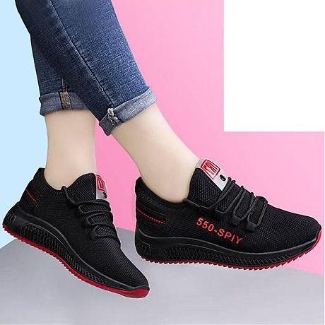 Giầy sneaker nữ phong cách thể thao buộc dây 202 2