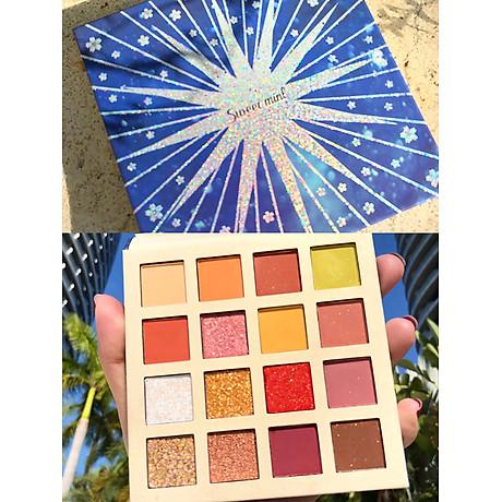 Bảng Mắt Nhũ 16 Ô Sweet Mint Lucky Star 4