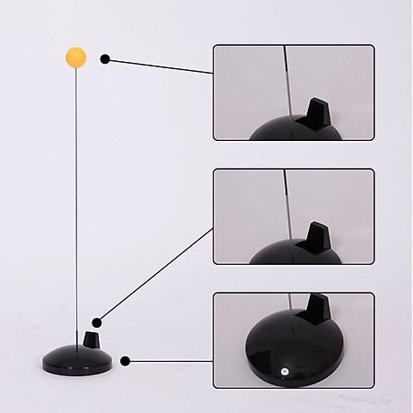 Bóng bàn phản xạ lắc lư cao cấp, không lo văng bóng hay lật đế - tặng kèm 1 dây đàn hồi carbon 69cm 7