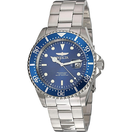 Invicta Men s Pro Diver Quartz Diving Watch with Stainless-Steel Strap, Silver, 22 (Model 22019) 1