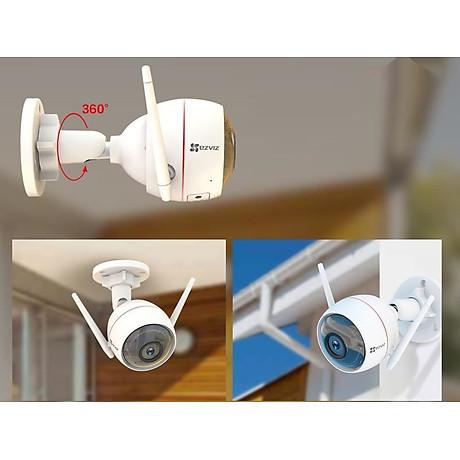 Camera IP Wifi EZVIZ C3W 1080P có đèn còi - đàm thoại 2 chiều - hổ trợ thẻ nhớ lên đến 256G - hàng nhập khẩu 2