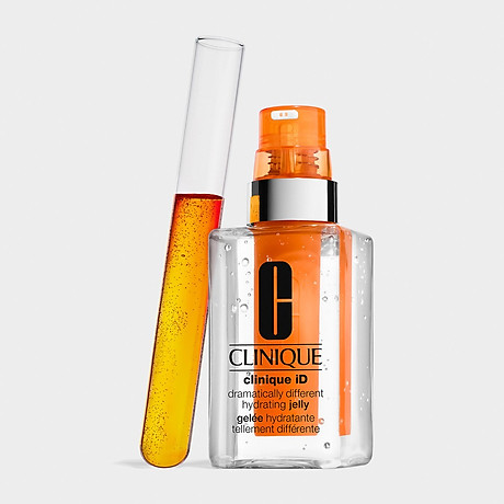 Clinique ID Hydrating Jelly + Concentrate for Irritation Orange - Dưỡng Dạng Thạch Giúp Giảm Căng Thẳng Trên Da 2
