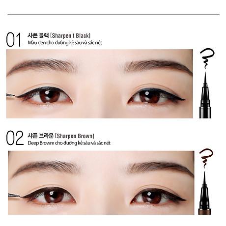 Kẻ mắt nước Bbia Last Pen Eyeliner 0.6g (5 màu) 3