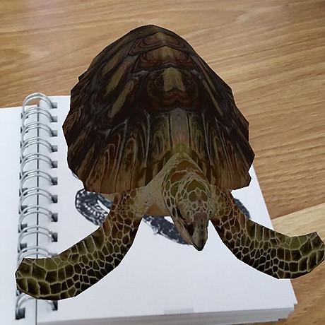 Bộ thẻ Animal 4D dạng sách tiện dụng 33 mẫu - Tăng khả năng sáng tạo học hỏi của trẻ 3
