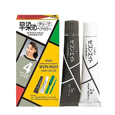 Nhuộm phủ bạc SEVEN EIGHT Hair Color (40g + 40g) Nhật Bản 1