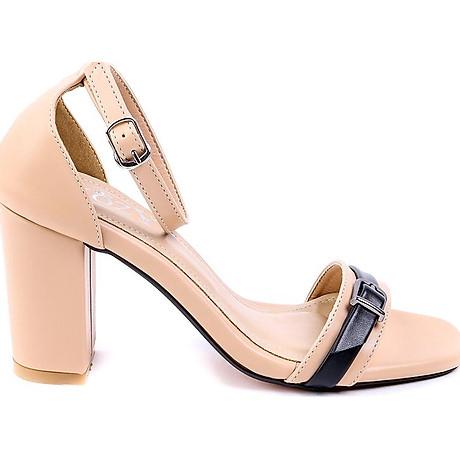 Giaỳ sandal Mozy đế vuông quai khóa MZSD034 3