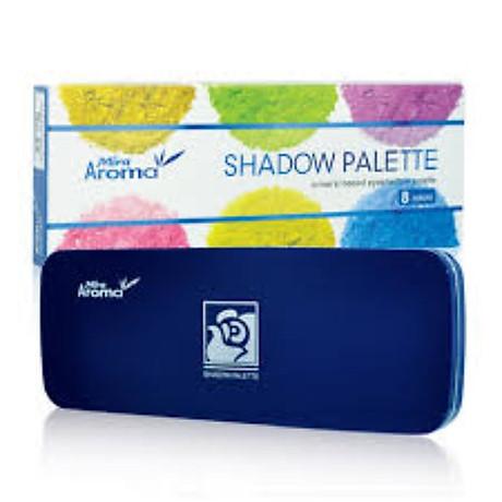 Phấn mắt 8 ô siêu mịn Mira Aroma Shadow Palette 8 Colors Hàn Quốc (2g x8) No.1 tặng kèm móc khoá 3