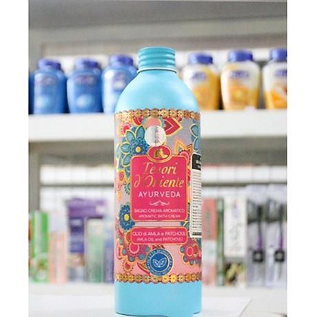 Sữa tắm hương nước hoa Tesori D Oriente Ayurveda Shower Cream 500ml + Móc khóa 6