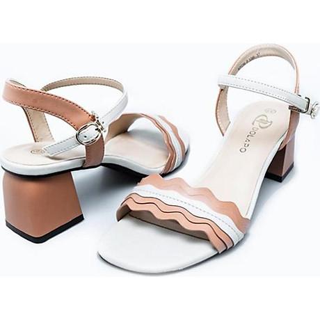 Giày Sandal Nữ Gót Vuông Dolapo SDV1086 3