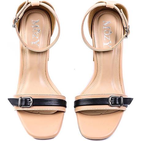 Giaỳ sandal Mozy đế vuông quai khóa MZSD034 6