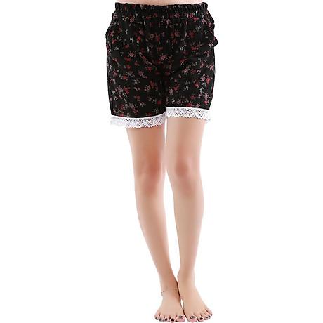 Combo 4 quần short nữ hoạ tiết thổ cẩm Phúc An 3014 6