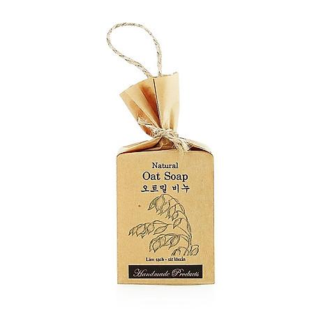 Xà phòng handmade thảo mộc tinh chất Yến Mạch - ECOLIFE Natural Soap - Oat 1