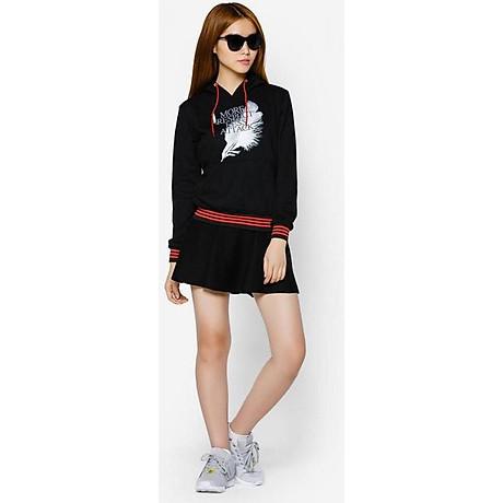 Áo khoác nữ cổ chui hoodie Phúc An 6